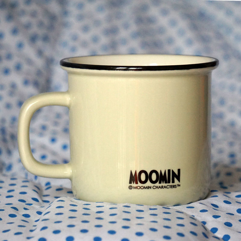 muumi cup Little My Girl Cartoon cup Finland Moomin Valley Cup Coffee Milk Tea mumin cup White Yellow Creative Gifts Caneca Copo in Coffee Cups Mugs from Home Garden