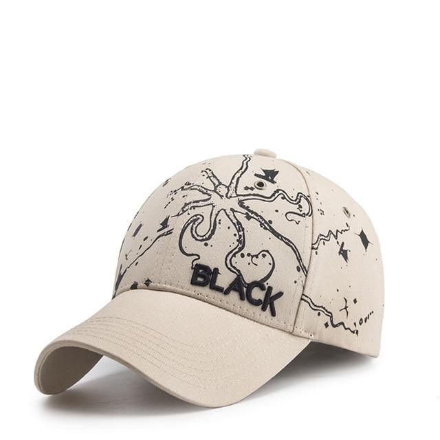 Otoño e Invierno nueva tendencia bordado gorra de béisbol hombres y ...