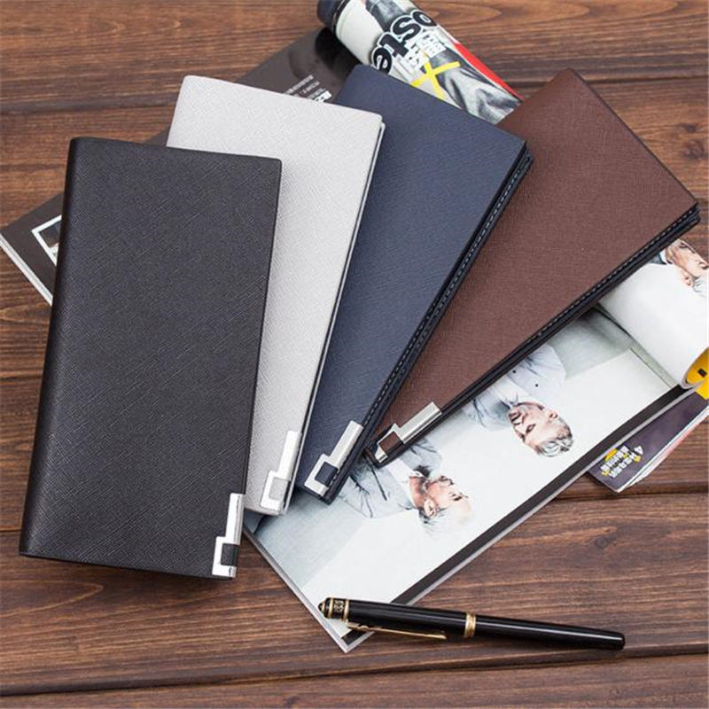 Men Leather Bifold Money Card Holder Wallet Coin Bag Clutch Pocket Long Purse