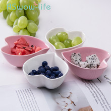 Creative Ceramic Dish Heart-shaped Small Dishes Hotel Restaurant Home Sauce Dish Candy Dishes Snack Bowl For Tableware