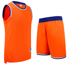 SANHENG Men's Basketball Jersey Competition Uniforms Suits Breathable Sports Clothes Sets Custom Basketball Jerseys Shorts 302AB(China)