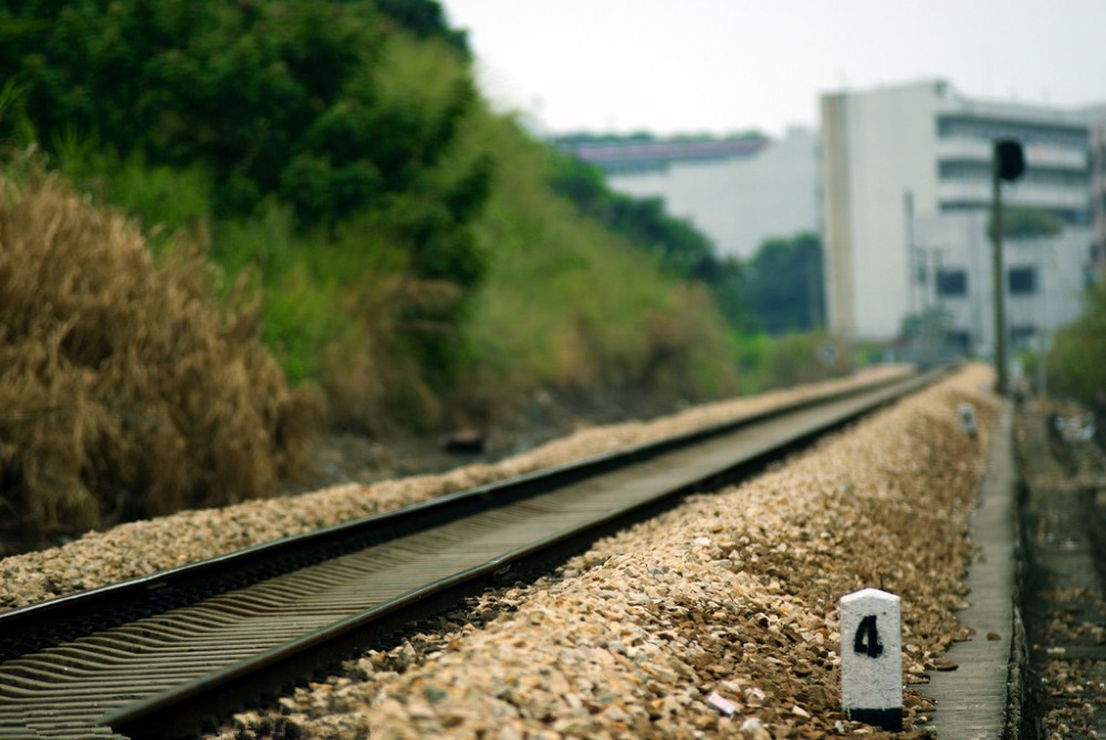 SHENGYONGBAO 7x5ft Art Cloth Custom Railway Theme Photography Backdrops Prop Photo Studio Background NTG-177