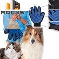 Магия Deshedding Перчатки Костюм для Кота Собаки Любимчика Массаж Уход Грумера