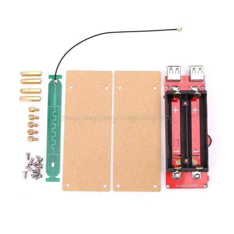 ESP8266 Développement Conseil WiFi Deauther Attaque/Test/Interférences 1.3 OLED Rapide De Charge 2 USB F18 19 livraison directe