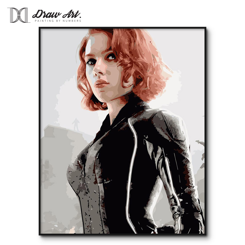 Scarlett johansson black widow poster - photo#47