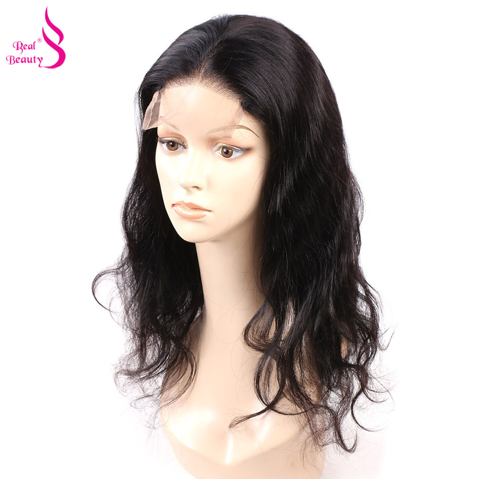 U Part 4x4 Clsoure Lace Front Human Hair Wigs For Women Malaysian Body Wave Lace Front