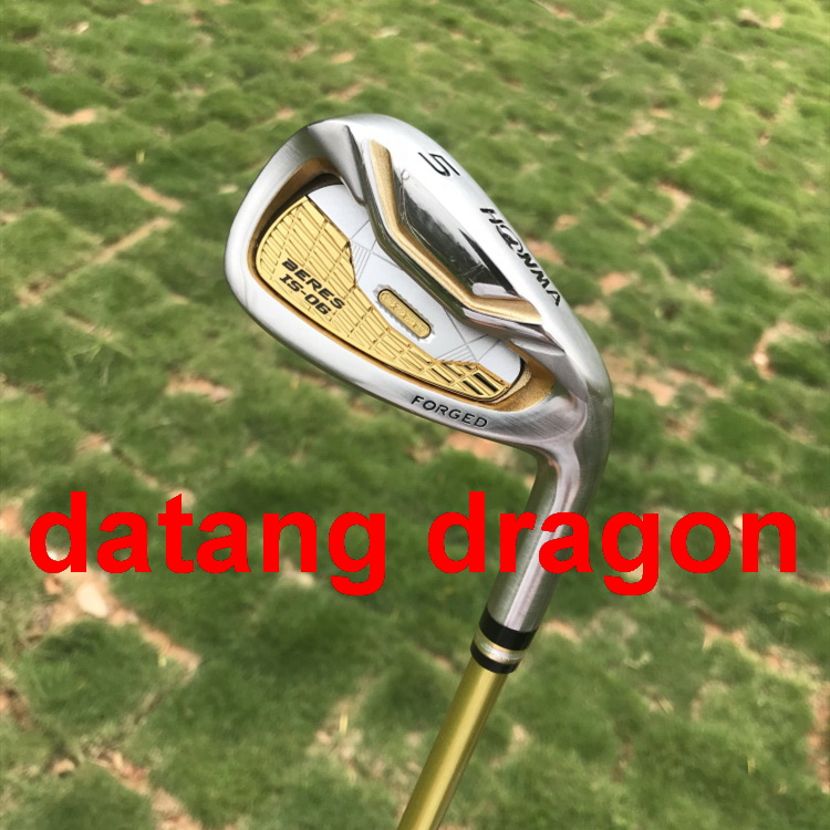 datang dragon golf irons Honma S-06 irons 3 star 5-11 Aw Sw with Graphite shaft R/S flex headcover golf clubs