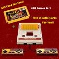 8 Bit clásico consolas de videojuegos original , nostálgico TV juego del jugador Fcomputer juego con el libre 400 juegos de cartas envío gratis