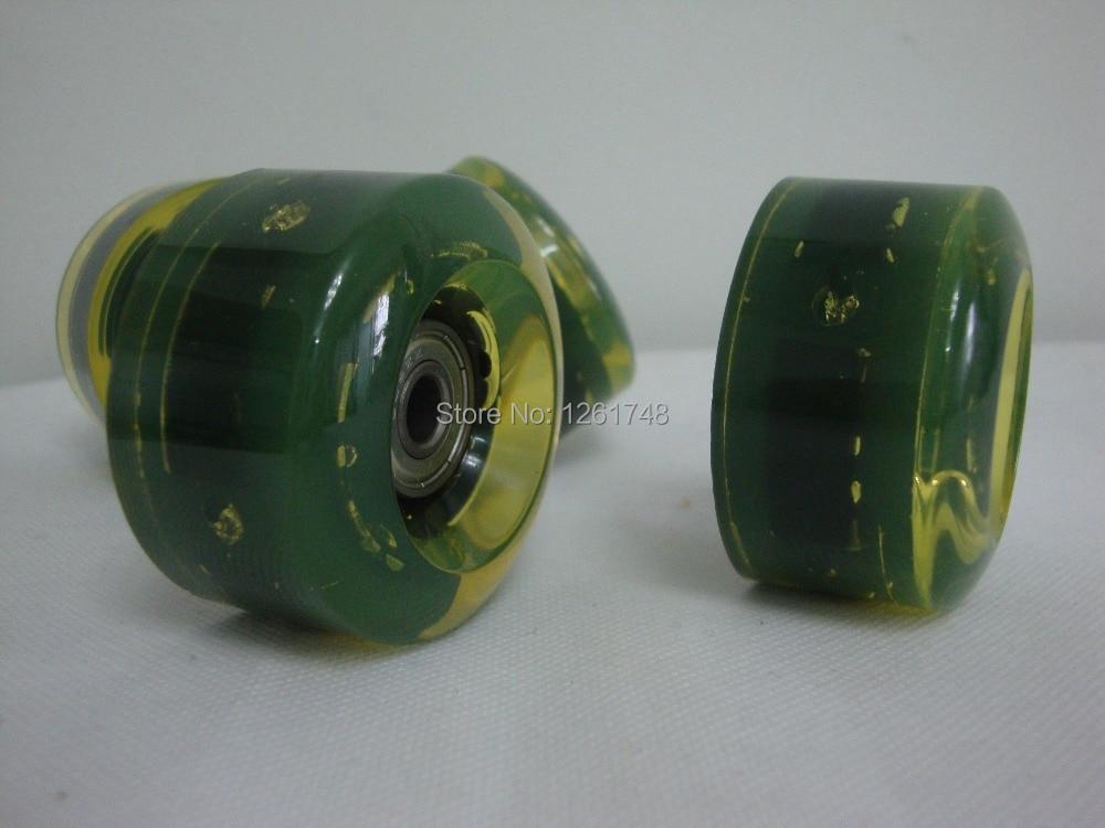 ФОТО Free shipping! High quality LED flash wheels / skate wheels / wheel double shoes / 56X32mm / 8PCS sales