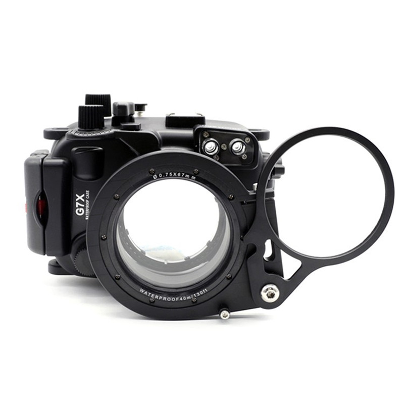 Meikon 67mm Adapter Mount for G7X DSLR Camera with Macro Fisheye Wide-Angle Lens цена