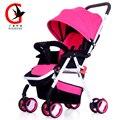 Может сидеть может лежать коляску ortable ультра-легкий зонт коляска анти-шок детская коляска XYC-1602