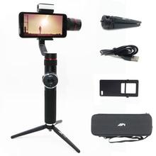 AFI V5 stabilisateur pour téléphone cardan Selfie bâtons 3 axes poche Smartphone stabilisateur téléphone cellulaire pour Iphone X 8 7 Samsung