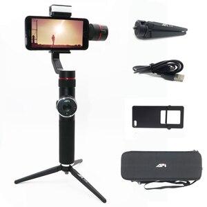 Image 1 - אפי V5 מייצב עבור טלפון Gimbal Selfie מקלות 3 ציר חכם כף מייצב נייד טלפון עבור Iphone X 8 7 סמסונג