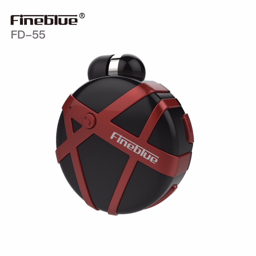 FineBlue FD55 Wireless Bluetooth Earphone Scalable Sport Headphones Clip-on Business Headset Handsfree Vibrating Earbud With Mic