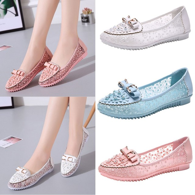 Woman Flats 2019 Pointed Toe Slip on Shoes Woman Ballet Flats PU Leather Loafers Boat Shoes Weave Ladies Shoes Zapatos Mujer#N3 1