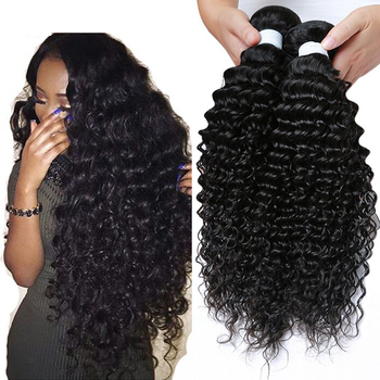 Brazilian Deep Curly Virgin Human Hair Extensions