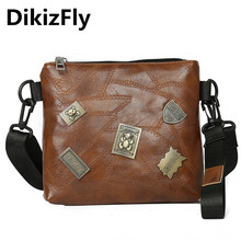 DikizFly New Fashion PU Leather Women Bags Small Crossbody Ladies Handbags For Shoulder Hand Bag sac main femme purse