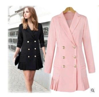 Spring And Autumn New Slim Gold Velvet Small Suit Jacket Female Leisure Blazer