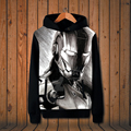 New The avengers alliance Coats Iron Man hoodie Anime Hooded High quality Sweatshirts