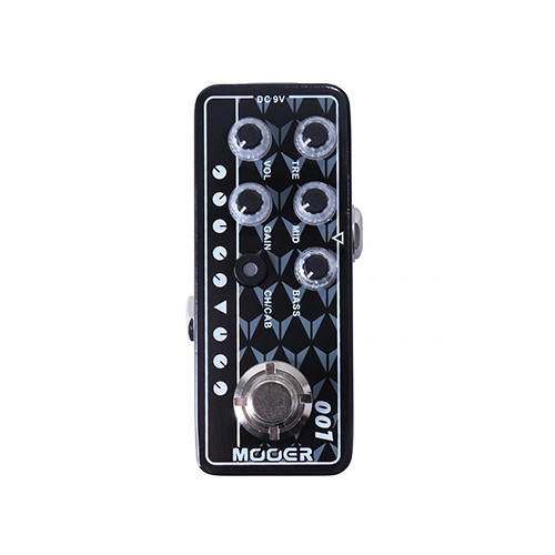 MOOER MICRO PREAMP Series 001 Gas Station High Gain Digital Preamp Preamplifier Guitar Effect Pedal True BypassMOOER MICRO PREAMP Series 001 Gas Station High Gain Digital Preamp Preamplifier Guitar Effect Pedal True Bypass