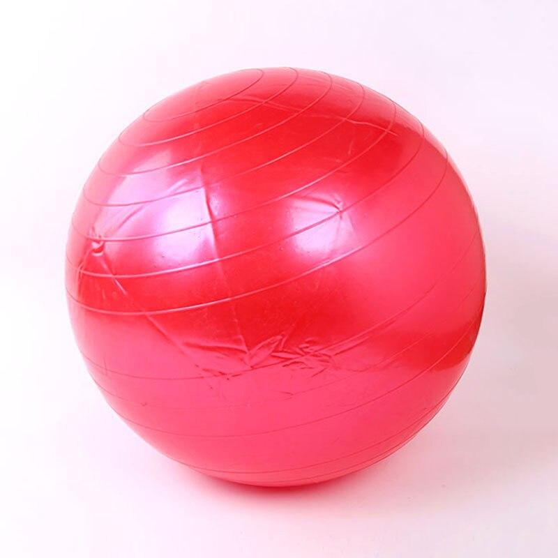 65cm Yoga Ball Utility Yoga Balls Pilates Balance Fitness Sport Fitball Proof Balls Anti-slip Massage Training Exercise Yoga Gym
