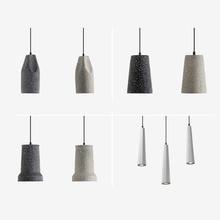 Industrial wind lamp retro nostalgic cement  modern simple creative personality loft art single-head restaurant lamps