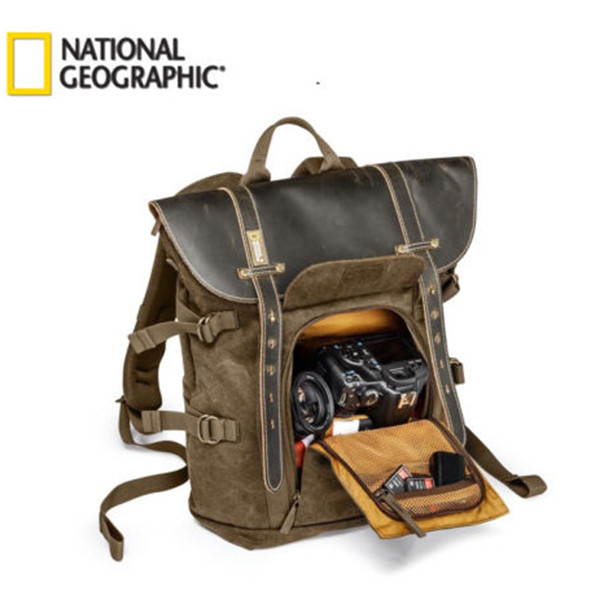 Free shipping New National Geographic NG A5280 Africa Series Small Backpack camera bag case Promotion Sales national geographic ng a5280 photo backpack for dslr action camera tripod bag kit lens pouch laptop outdoor photography bags