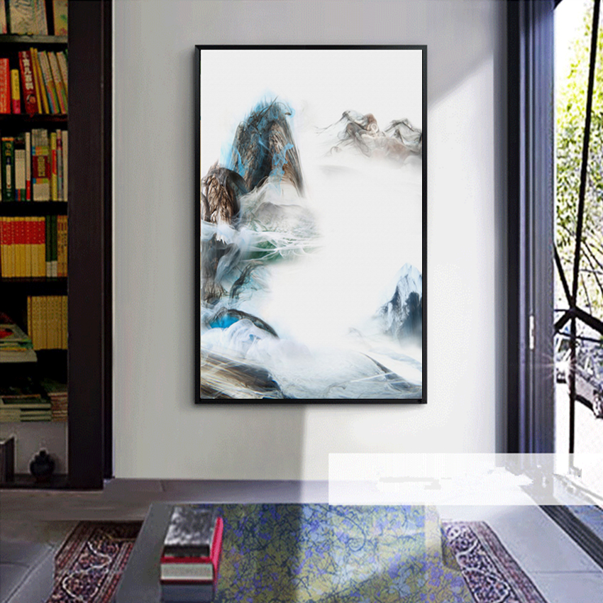 Canvas Wall Prints Impressionism Landscape Decoration Painting Abstract Art Painting Home Decor