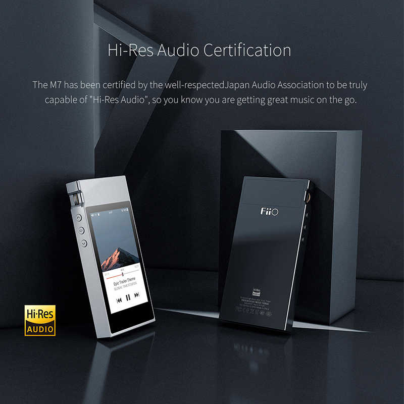 Image 4 - FiiO M7 High Res Audio Lossless Music Player MP3 Bluetooth4.2 aptX HD LDAC Touch Screen with FM Radio Support Native DSD128HiFi Players   -