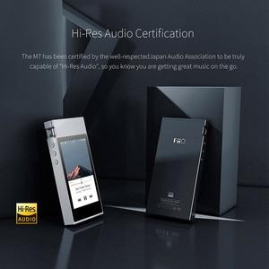 Image 4 - Музыкальный плеер FiiO M7 с высоким разрешением, аудио без потерь, MP3 Bluetooth4.2, сенсорный экран aptX HD LDAC с FM радио, поддержка Native DSD128