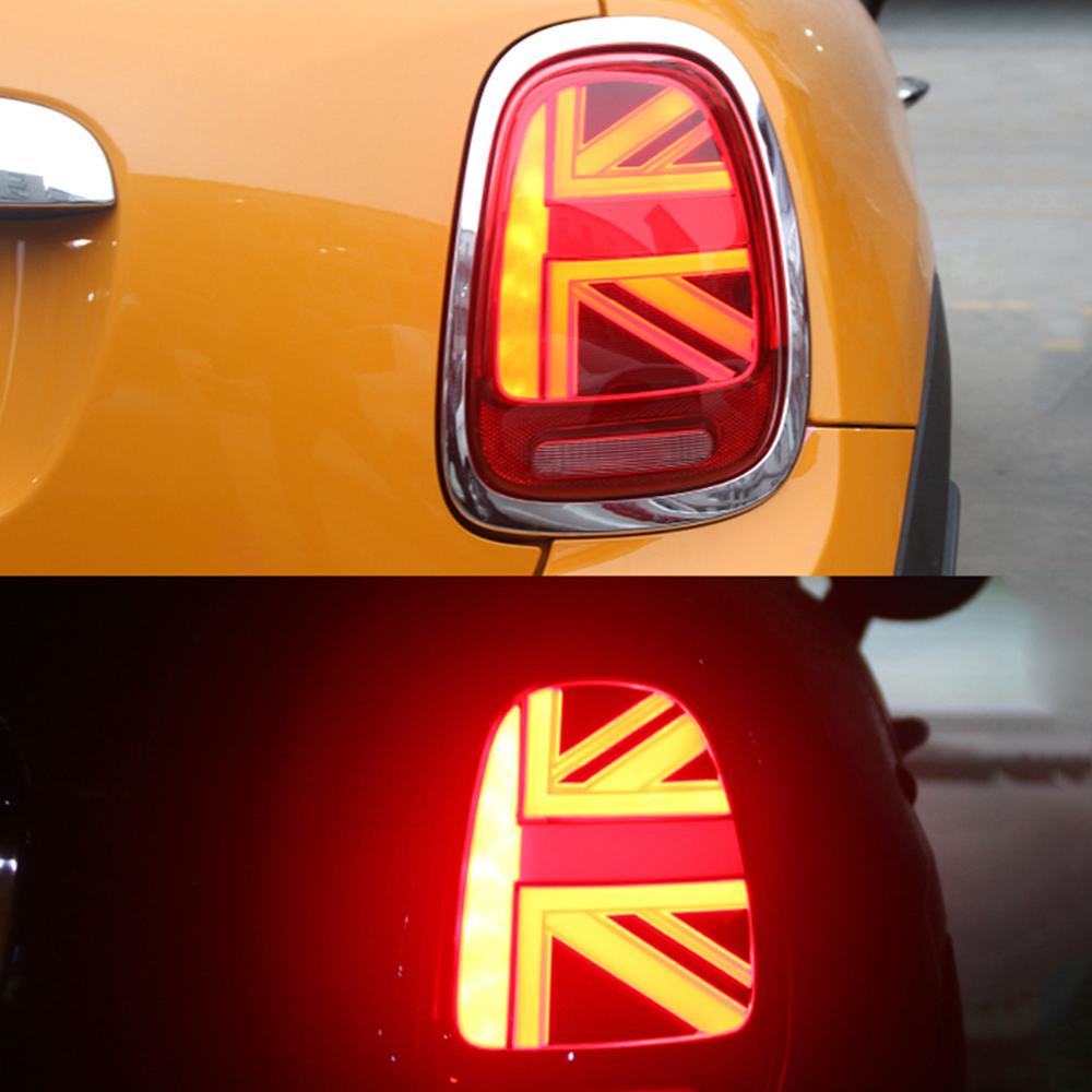 Юнион Джек автомобилей Светодиодный сзади Фонарь задний фонарь Ассамблеи тормозной фонарь указателя поворота для BMW MINI Cooper F55 F56 автомобиль