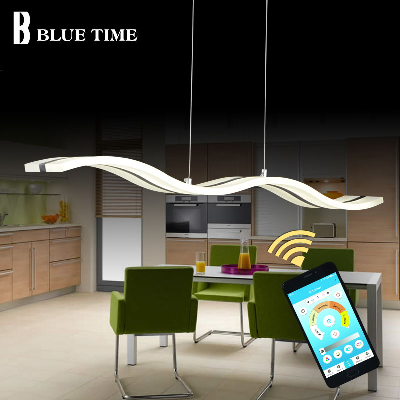 38W TOP Modern Led Pendant Light Hanging Lamp Ceiling Lamp Fixtures Acrylic LED Pendant Lamp For Living Room Dining Room Kitchen