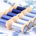 20 м светильник, синяя Сучжоу вышивка, сделай сам, общий цвет, шелковая линия, ручная вышивка, Spiraea