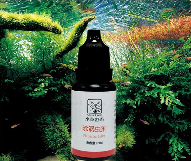12ml Worm Disinfectant Planarian Killer For Aquarium Fish Shrimp Tank