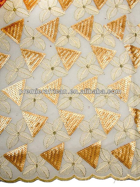 Nigerian Quality Manufacturers Austria Gold African Lace Fabrics ...