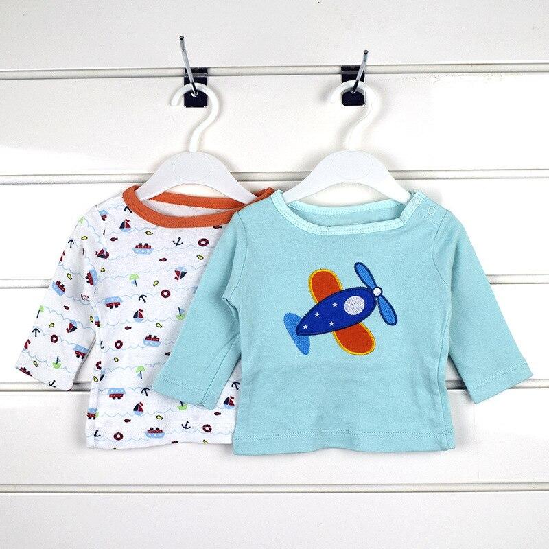 5 stks / pack unisex baby lange mouw tee katoen cartoon zuigeling - Babykleding - Foto 5