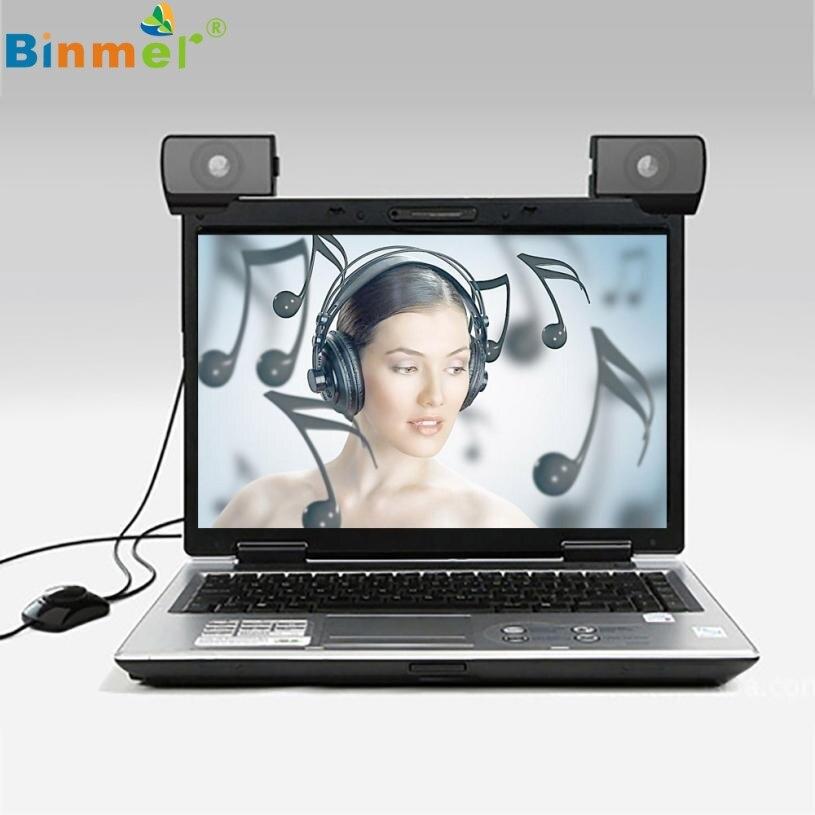 Binmer Speakers for Computer Laptop 1 Pair Mini Pors