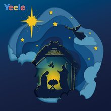 Фон для фотосъемки yeele с изображением Иисуса и надежды ангела