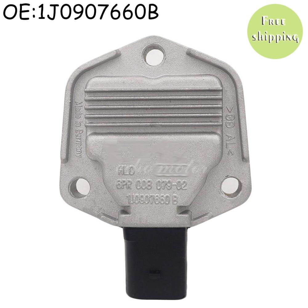 Nuevo Sensor de nivel de aceite 1J0907660 B 1J0907660B para VW Jetta Bora Golf MK4 Passat B5 Fit AUDI A4 A6 SKODA asiento 1J0 907 660 B