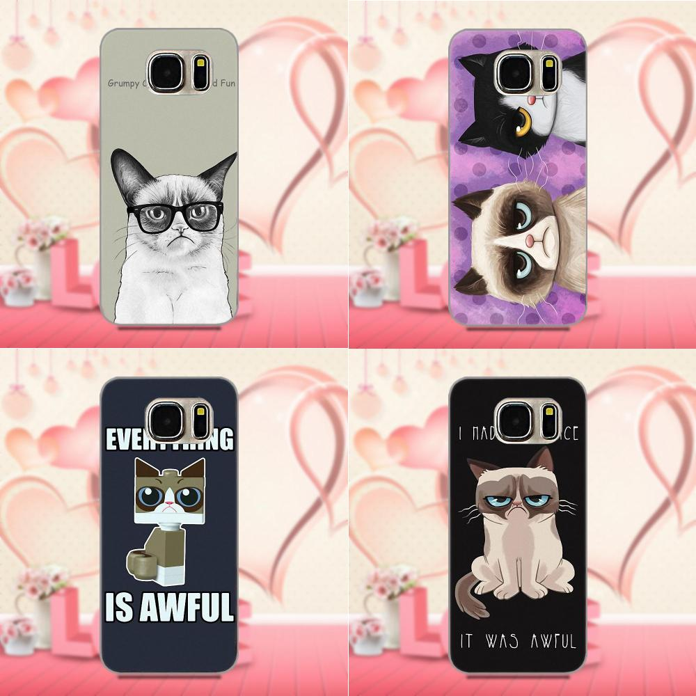 For Galaxy A3 A5 A7 J1 J3 J5 J7 S5 S6 S7 S8 S9 edge Plus 2016 2017 Soft Fashion Original Grumpy Quotes I Had Fun It Was Awful