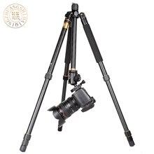 Q666/QZSD Q999 Professional Photographic Portable Tripods Pro SLR Digital Camera Aluminium Tripod For Travelling Free Shipping