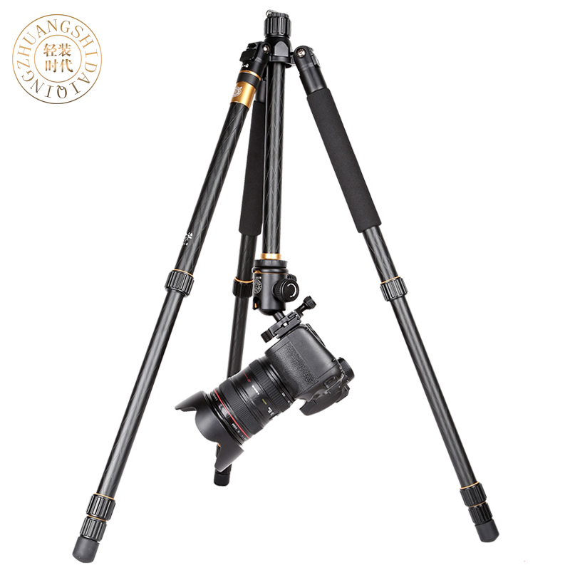 Q666/QZSD Q999 Professional Photographic Portable Tripods Pro SLR Digital Camera Aluminium Tripod For Travelling Free Shipping free shipping qzsd q999 portable tripod