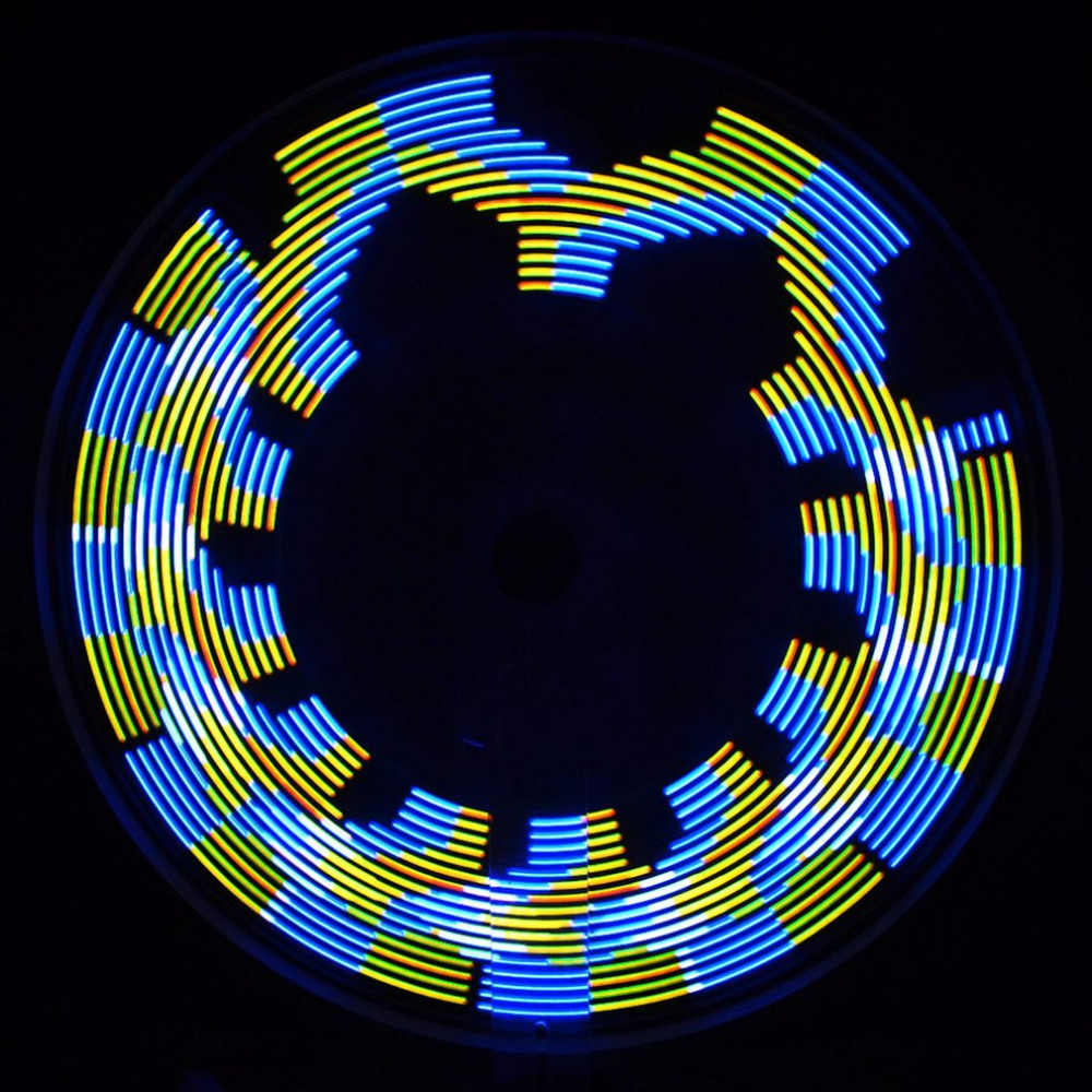 geekoplanet.com - Magical Wheel Light 30 Flash Patterns