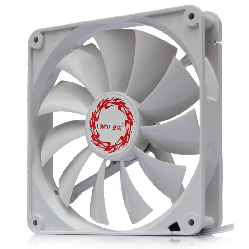 Computer Chassis DC 12V 140mm Centimeter Mute High Effect Dissipate Heat Fans New Product water cooler heatsink pc cooling fan