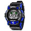 2016 Моды для Мужчин Случайные Спортивные Часы Цифровые Наручные Часы LED Человек Часы Водонепроницаемый военные Часы подарок Relógio Masculino