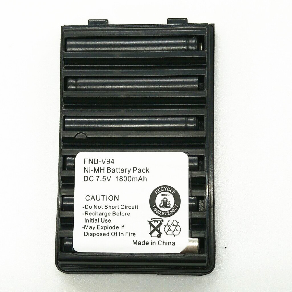 Original 1800mAh 7.5V NI-MH FNB-V94 Ni-MH Battery for Yaesu / Vertex Radio FT-60 FT-60E FT-60R VXA-300,VX-110 VX-120  radioOriginal 1800mAh 7.5V NI-MH FNB-V94 Ni-MH Battery for Yaesu / Vertex Radio FT-60 FT-60E FT-60R VXA-300,VX-110 VX-120  radio