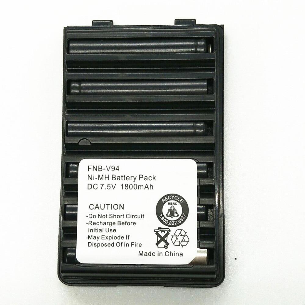 Original 1800mAh 7.5V NI-MH FNB-V94 Ni-MH Battery For Yaesu / Vertex Radio FT-60 FT-60E FT-60R VXA-300,VX-110 VX-120  Radio