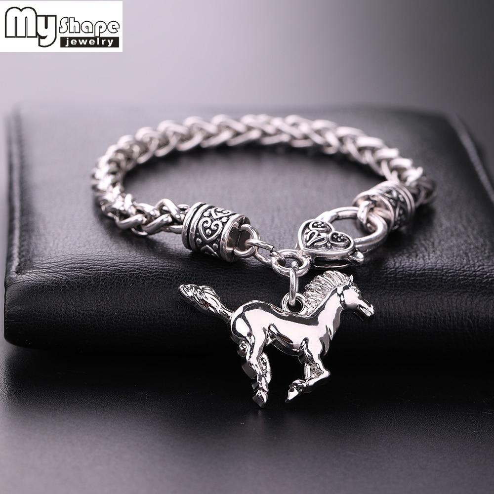 Silver Plated Fashion Charm Bracelet
