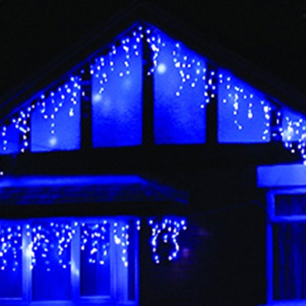 220v/110v Outdoor Powered Bulb Column Christmas Tree Decoration Lamp String Ip44 Courtyard Decorative Light String High Resilience Lights & Lighting