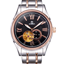 CASIMA font b watches b font men stainless steel automatic mechanical men font b watches b